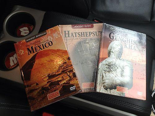 3 Ancient Civilizations DVDs - Pyramids of Mexico