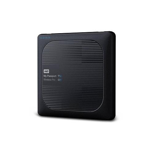 WD My Passport 4TB Wireless Pro WiFi Mobile Storage WDBSMT0040BBK-NESN