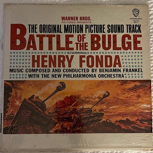 33 ⅓ RPM Vintage Phonograph Record - Henry Fonda Battle of the Bulge