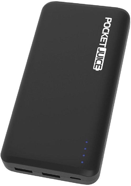 Tzumi PocketJuice Endurance 10000 mAh Portable Charger - Black Model:3995BB-3