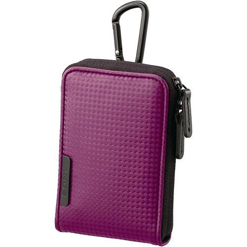 Sony LCS-CSVC/V Carrying Case (Spotted Violet)