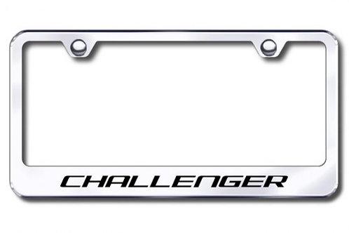 AG Challenger Stainless License Plate Frame