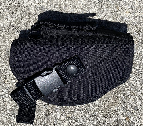 Soft Cloth-Like Holster (6 inches tall (4-5 inches in width) - Right Hand