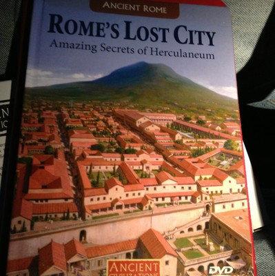 ANCIENT CIVILIZATIONS, ROME'S LOST CITY DVD & BOOK