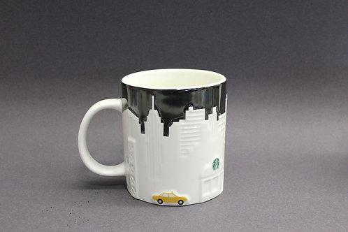 STARBUCKS TAXI 2012 New York NY City Mug NYC
