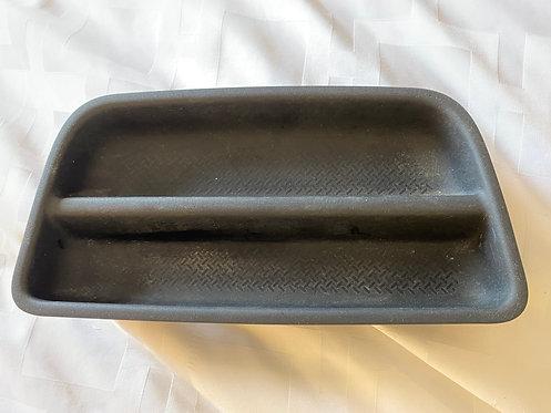 07-10 Jeep Wrangler JK Factory Upper Dash Insert Rubber Tray Coin 62635 TMD
