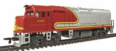 Life-Like EMD Diesel F40PH Powered #100 - Santa Fe