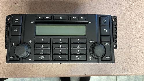 2008 to 2011 Land Rover LR2 OEM DDIN Radio with LR2-6H52-18845-AC ID LR001 Panel