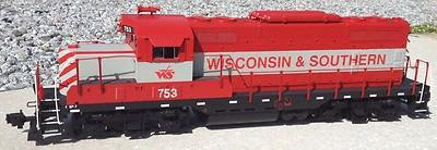USA Trains R22100 - G Scale GP7 Wisconsin Southern