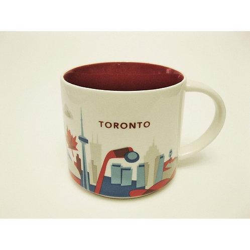 Starbucks Toronto 14oz Ceramic Coffee Mug YAH