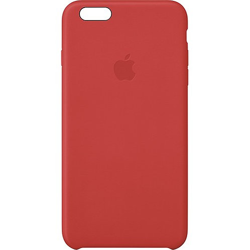 iPhone 6 plus Leather Case Red - Apple MGQY27M/A