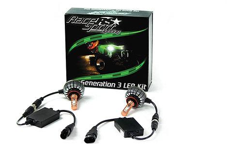 Race Sport Lighting LED Headlamp Conversion Kit H13 (LED-G3-13)