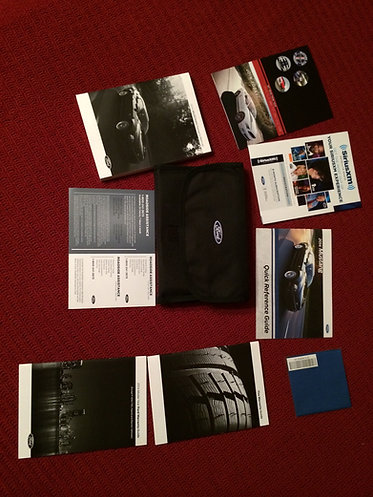 2014 Ford Mustang Owners Manuals Kit w/Cloth Case