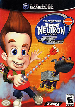Jimmy Neutron, Boy Genius: Jet Fusion  -  GBA