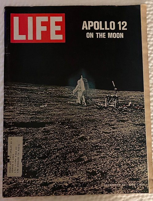 Life Magazine December 12, 1969 Issue - Apollo 12 on the Moon