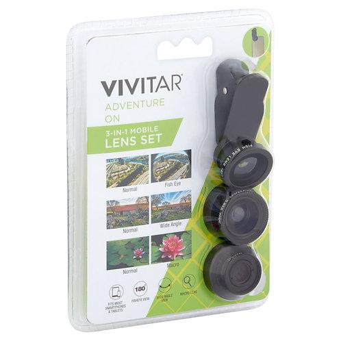 Vivitar Adventure On 3-in-1 Mobile Lens Set VIV-SP-705