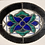 Thumbnail: Stained Glass Oval Art Deco