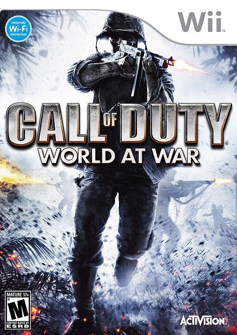 Call of Duty: World at War [Nintendo Wii]