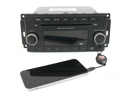 2013-2017 Chrysler Dodge Jeep AM FM MP3 Radio CD Player Part - P05091195AB