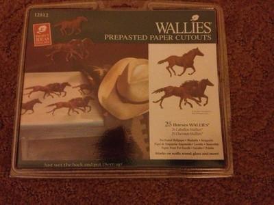 Wallies 12512 Horse Wall Art Decor 25 Cutouts