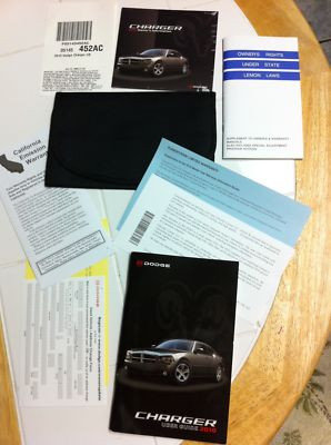2010 Dodge Charger Owner Manual