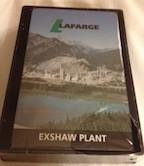 LaFarge Exshaw Plant Playing Card Set
