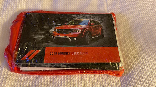 2019 Dodge Journey US Owners Manuals Kit P68419911AB