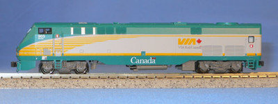 Kato N Scale Locomotive Train Engine P42 Via Rail