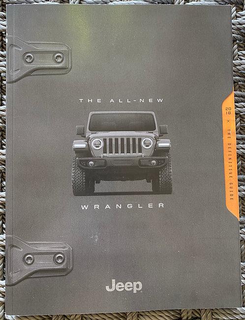 2018 Jeep Wrangler Definitive Guide
