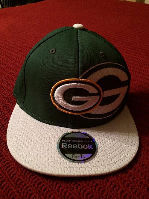 Green Bay Packers Reebok Flat Flex Style Visor