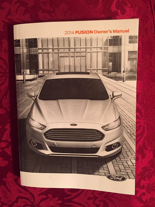 2014 Ford Fusion Owner's Manual