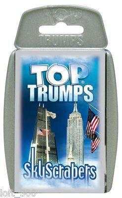 Top Trumps Card Game - SkyScrapers