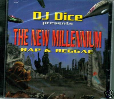 DJ Dice - New Millenium Rap & Reggae (Latin) - CD