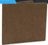 Mens Slim Wallet (DuraWallet) Bifold Durable Brown