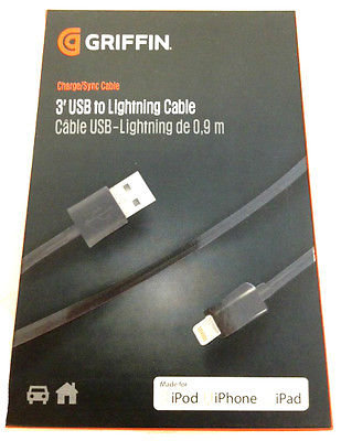 Griffin GC36670 3' USB Cable w/Lightning Connector