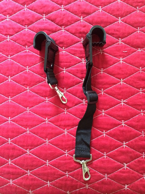 Buddy System Luggage Strap set (2-piece)