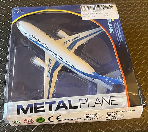 1/120th Die Cast Boeing 777 Metal Plane - Boeing 777 Demonstrator
