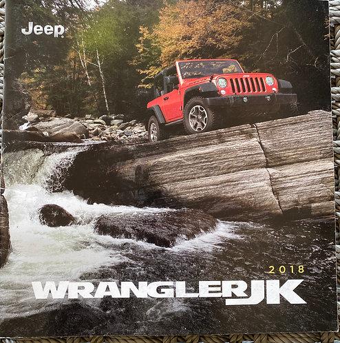 2018 Jeep Wrangler JK Sales Brochure