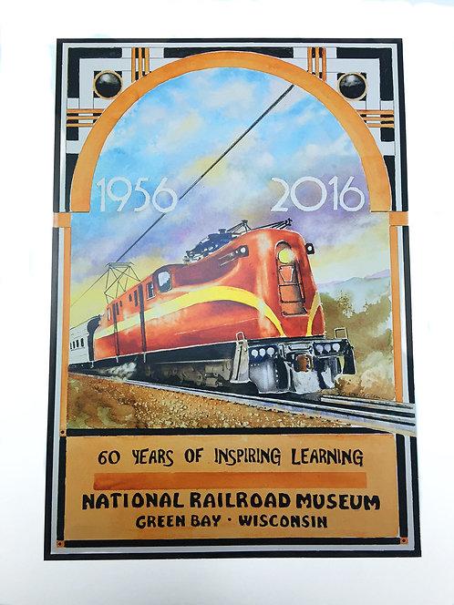 2016 National Railroad Museum Membership Print