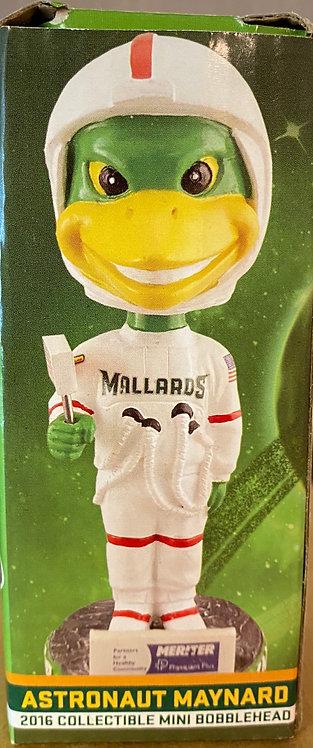 Madison Mallards 2016 Mini Bobblehead Series Astronaut Maynard