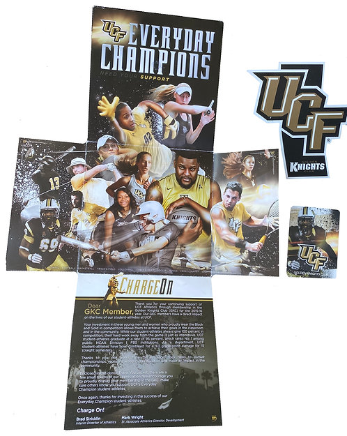 2015-2016 Golden Knights Club Boosters Gift Kit