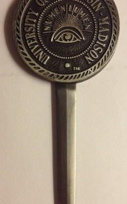 UW Madison - Pewter Letter Opener