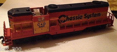 Mehano HO High Nose Diesel Loco C&O #4301 w/o roof