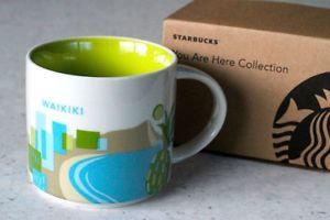 Starbucks Waikiki 14oz Ceramic Coffee Mug YAH