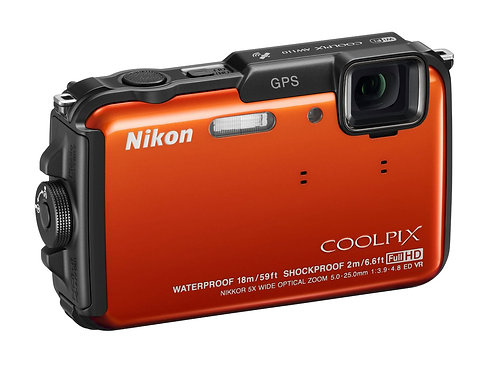 Nikon Coolpix AW110 16.0 MP Digital Camera