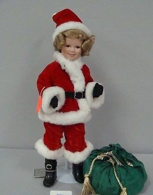 Shirley Temple Santa's Helper by Danbury Mint