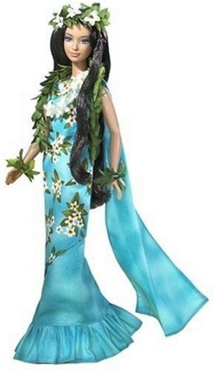 Dolls of the World-Princess of the Pacific Islands