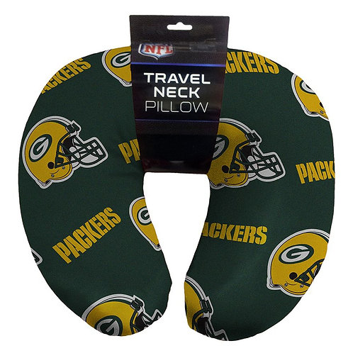 Green Bay Packers NFL U-Neck Beaded Span Pillow