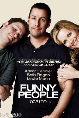 "2009 ""FUNNY PEOPLE"" Studio Movie Mini-Poster"