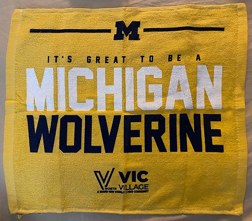 It's Great to be a Michigan Wolverine Fan Rally Towel